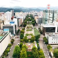 北海道の大通公園