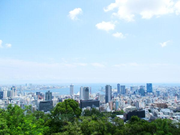 ビーナスブリッジから見た神戸市街地 1