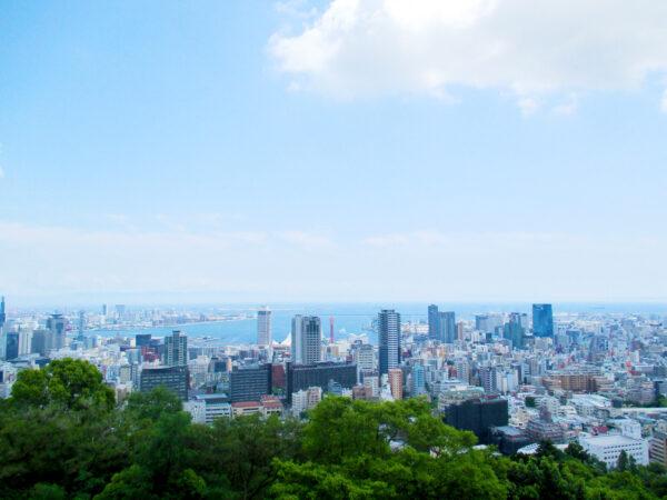 ビーナスブリッジから見た神戸市街地 2