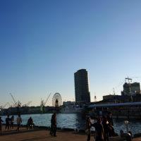 神戸港中突堤からみたモザイク