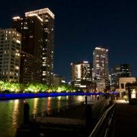 川沿いの夜景 5
