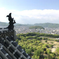 姫路城の鯱(しゃちほこ) 1