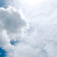 雲多めの空 2