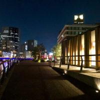 川沿いの夜景 4