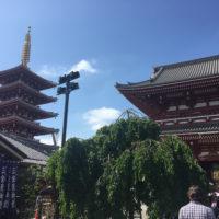 晴れた日の浅草寺 1