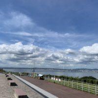 淡路サービスエリアからの明石海峡大橋 2