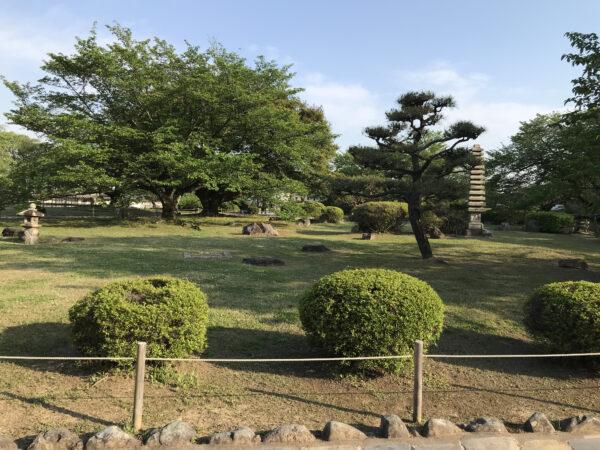 姫路城の庭園 2