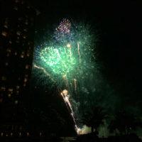 ヒルトンホテルの花火 5