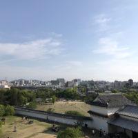 姫路城からの風景