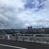 台北にたどり着く前の風景