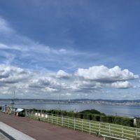 淡路サービスエリアからの明石海峡大橋 1