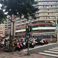 信号待ち 台北