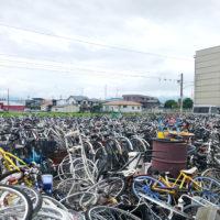 自転車のスクラップ 1