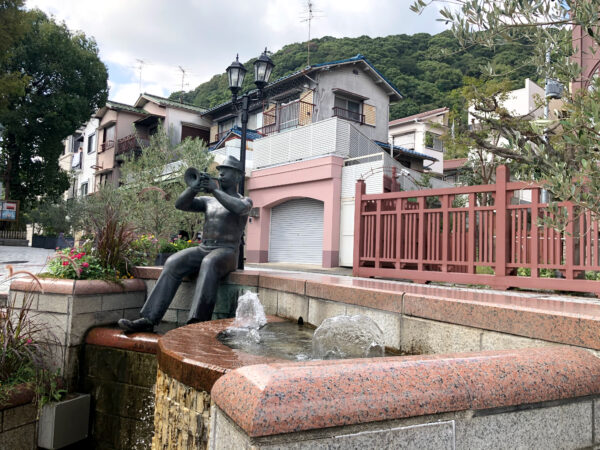 北野町広場にある銅像 2