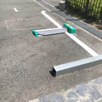 ロック装置方式駐車場 1