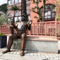 北野町広場にある銅像 1