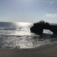 タナロット寺院と海 1