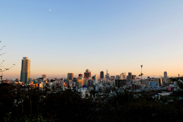 神戸北野 夕景 2