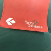 クリスマスの飛行機座席カバー