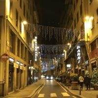 クリスマスのイタリアの町並み 1