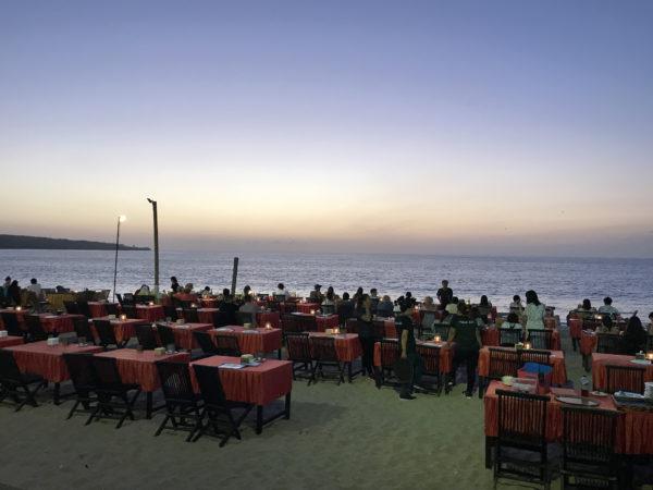 バリのジンバランビーチ 1