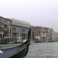 ベネチアのゴンドラ