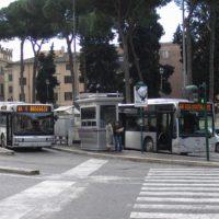 イタリアローマのバス