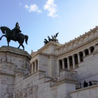 アルターレ・デッラ・パトリア(ヴィットーリオ・エマヌエーレ2世記念堂)1