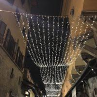 クリスマスのイタリアの町並み 5