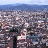 ドゥオモから見たフィレンツェ