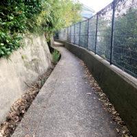 舗装された歩道 1
