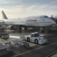 ルフトハンザドイツ航空の飛行機