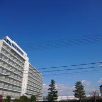 大阪の冬の晴天