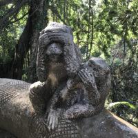 モンキーフォレストにある石像 4