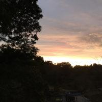 六甲山の夕焼け 2