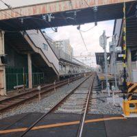柴島駅の踏切