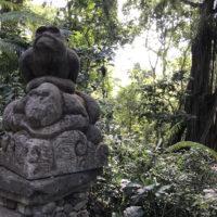 モンキーフォレストにある石像 3