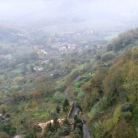イタリアの山あい
