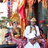 バリ島の結婚式 2