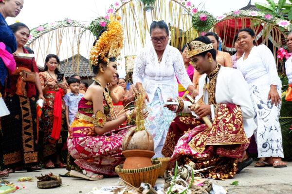 バリ島の結婚式 1