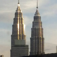 マレーシアの高層タワー 2