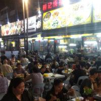 マレーシアの屋台街 1