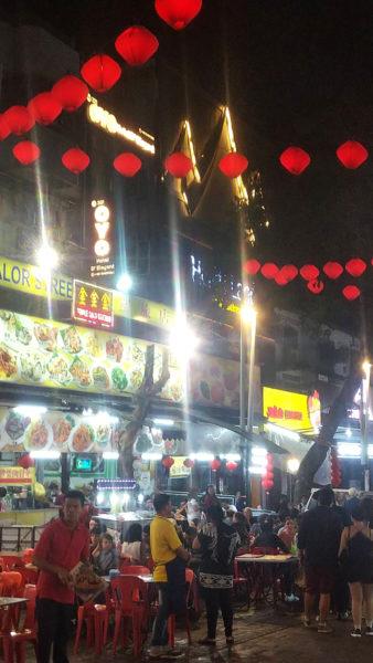 マレーシアの屋台街 2