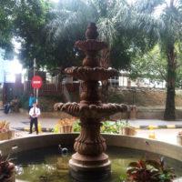 マレーシアの噴水