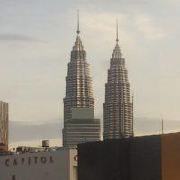 マレーシアの高層タワー 1