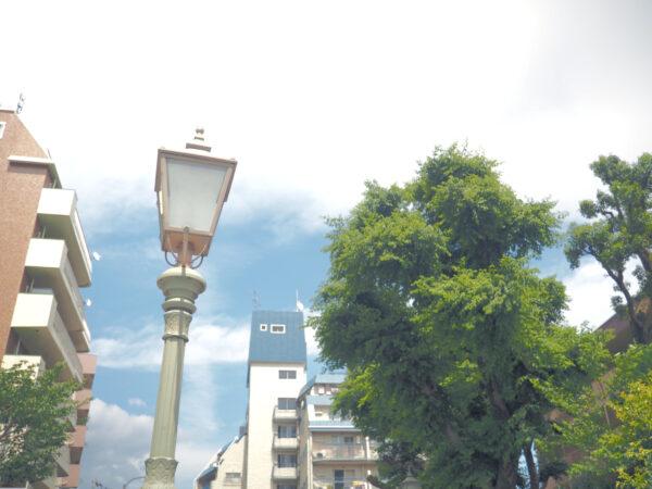 神戸北野 街灯