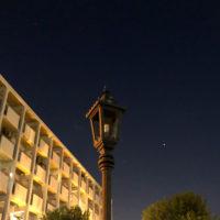 電気の消えた街灯