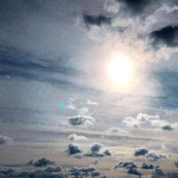 雲と空と太陽 3
