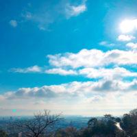 雲と空と太陽 2