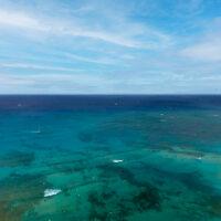 上から見たワイキキビーチ 1